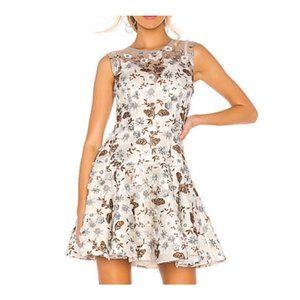 Bronx & Banco Dress Floral Embroidered
